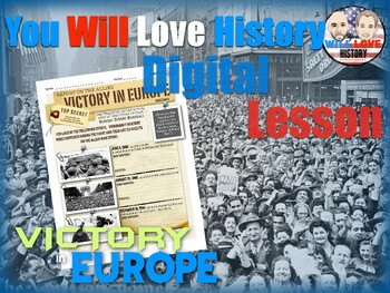 World War II: Victory in Europe Digital Google Activity