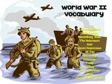 World War II Vocabulary Bundle