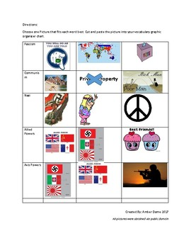 World War II-WW2 Vocabulary
