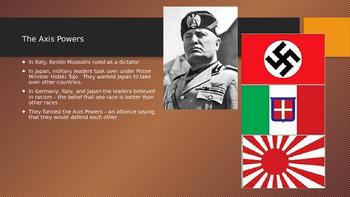 World War II - WWII Power Point