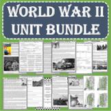 World War II (WWII) UNIT BUNDLE (Print and Digital Formats)
