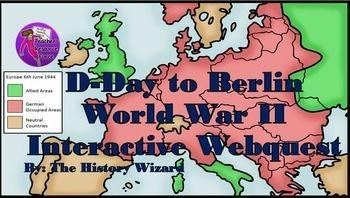 World War II Webquest