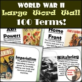 World War II Word Wall - 100 Terms, Definitions, and Images!