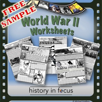World War Ii Freebie By History In Focus Teachers Pay Teachers