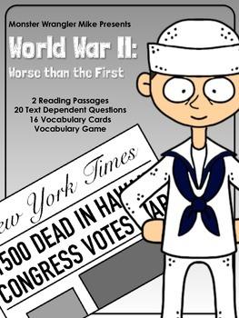 World War II: Worse than the First