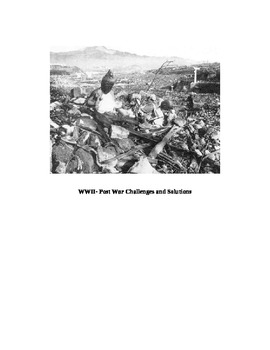 World War II aftermath challenges and solutions