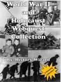 World War II and Holocaust Webquest Collection