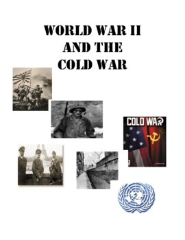 World War II and the Cold War HW Packet U.S. History