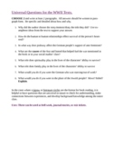World War II book study, literature circles