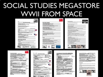 World War II WWII from Space Summary 1941-1945 History Channel Video BUNDLE