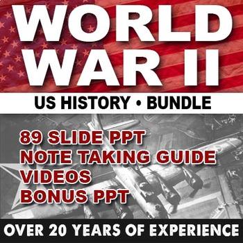 World War II GIANT Powerpoint/ US HISTORY