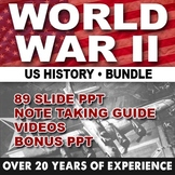 World War II GIANT Powerpoint/ US HISTORY