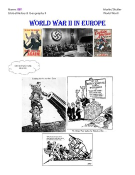 World War II in Europe Notes