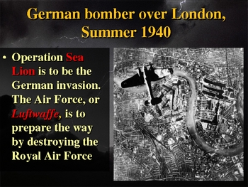 World War II in Europe Teacher PowerPoint
