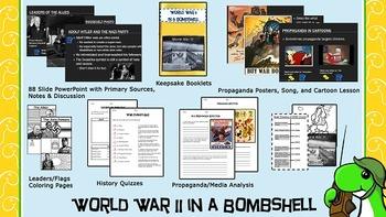 World War II in a Bombshell and Propaganda Units!