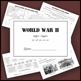 World War II interactive flip book