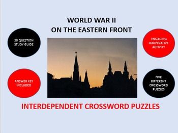 World War II on the Eastern Front: Interdependent Crosswor