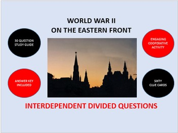 World War II on the Eastern Front: Interdependent Divided