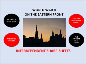 World War II on the Eastern Front: Interdependent Share-Sheets Activity