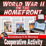 World War 2 on the Homefront Swing Dance Activity U.S. History  Print & Digital