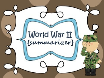 World War II {summarizer}