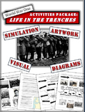 "Trench Warfare in World War One - ""Life in the Trenches"" - 9 Pages!"