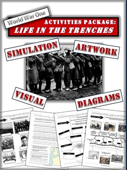 World War One/First World War Package: Life in the Trenche