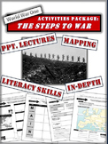 """World War 1 - """"The Steps to War"""" Package and PPT - 40 Pages/Slides of Resources!"""