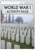World War One Activity Pack