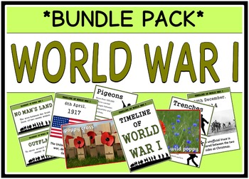 World War One (BUNDLE PACK)