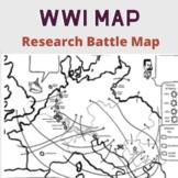 WWI Battle Map