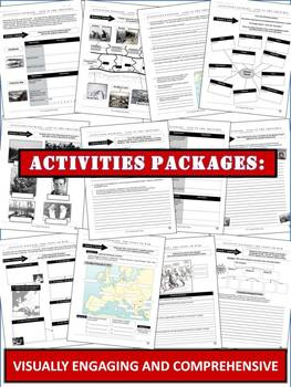 World War One/First World War Bundle: 23 Pages of Activities and 4 Lectures!