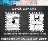 World War One Guided Graphic Doodle Notes