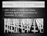 Treaty of Versailles and Justice? A World War 1 - First World War Lecture