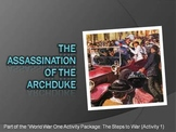 "World War 1 - ""Assassination of Archduke"" - 13 Creative Powerpoint Slides!"
