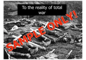 World War One Poetry - understanding interpretation using poems