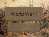 World War One PowerPoint Lecture