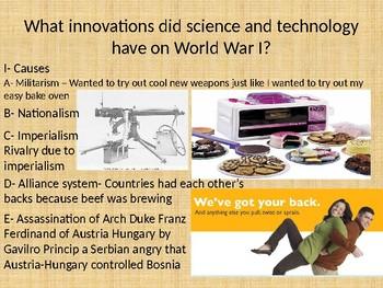 World War One Powerpoint