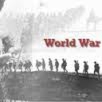World War One Project!