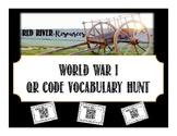 World War One QR Code Vocabulary Hunt - Canadian