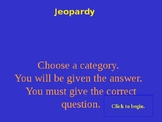 World War One Review Jeopardy Game