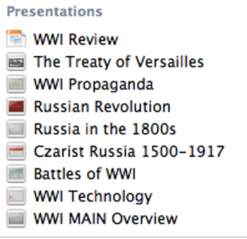 UPDATED! World War One & Russian Revolution COMPLETE UNIT World History WWI