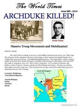 World War 1 Simulation Activity: Elementary Edition + 1 Year Online Subscription