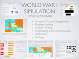 WW1 Simulation Activity: Elementary Edition + 1 Year Online Subscription