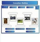 "World War 1 Smartboard Activity - ""Canadians in Battle"""