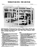 World War One:  The Air War Crossword Puzzle