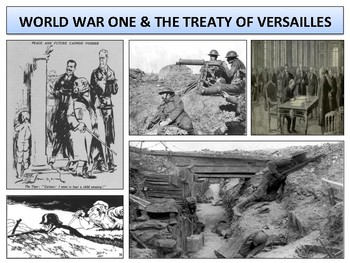 World War One & The Treaty of Versailles - Complete Unit Bundle