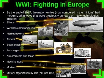 World War One: U.S. Perspective - PART 5 FIGHTING IN EUROPE