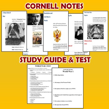 World War 1 Unit / WWI *Unit Bundle* (World History / U.S. History)