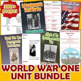World War 1 Unit Bundle (U.S. History / World History)